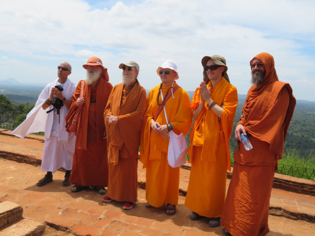 Monks, sri lanka, Sigiriya Rock Fortress